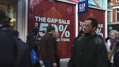 Gap Sale Sign 1