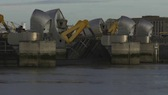 Thames Barrier Closing 2
