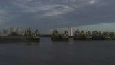 Thames Barrier Closing 3