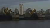 Thames Barrier Closing 4
