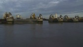 Thames Barrier Closing 5