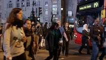 Piccadilly Pedestrians 1